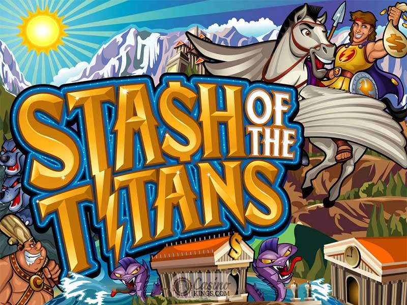 Un vistazo rápido a las máquinas tragamonedas Stash of the Titans de Microgaming